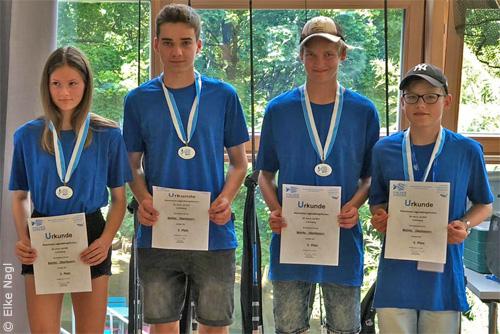 """""""Team Oberbayern"""" Bayerisches Jugendkönigsfischen 2019"""