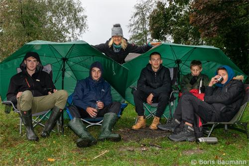Abschlussfischen der Jugendgruppe