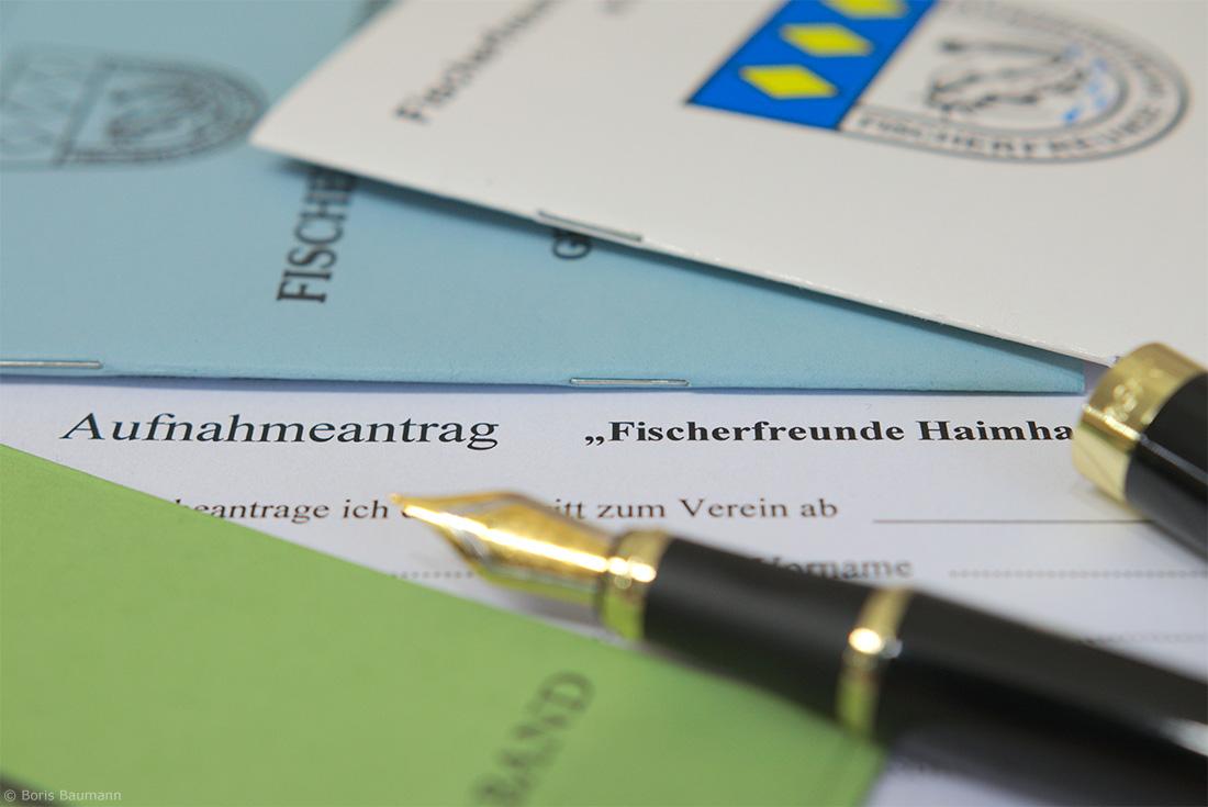 Aufnahmeantrag Fischerfreunde Haimhausen e.V.