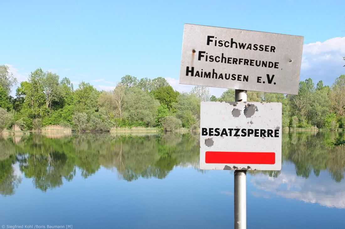 Gewässersperren Fischerfreunde Haimhausen e.V.