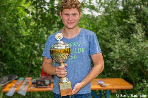 Josef Wallner, Fischerfreunde Haimhausen e.V. Sieger Pokalfischen Jugend 2021