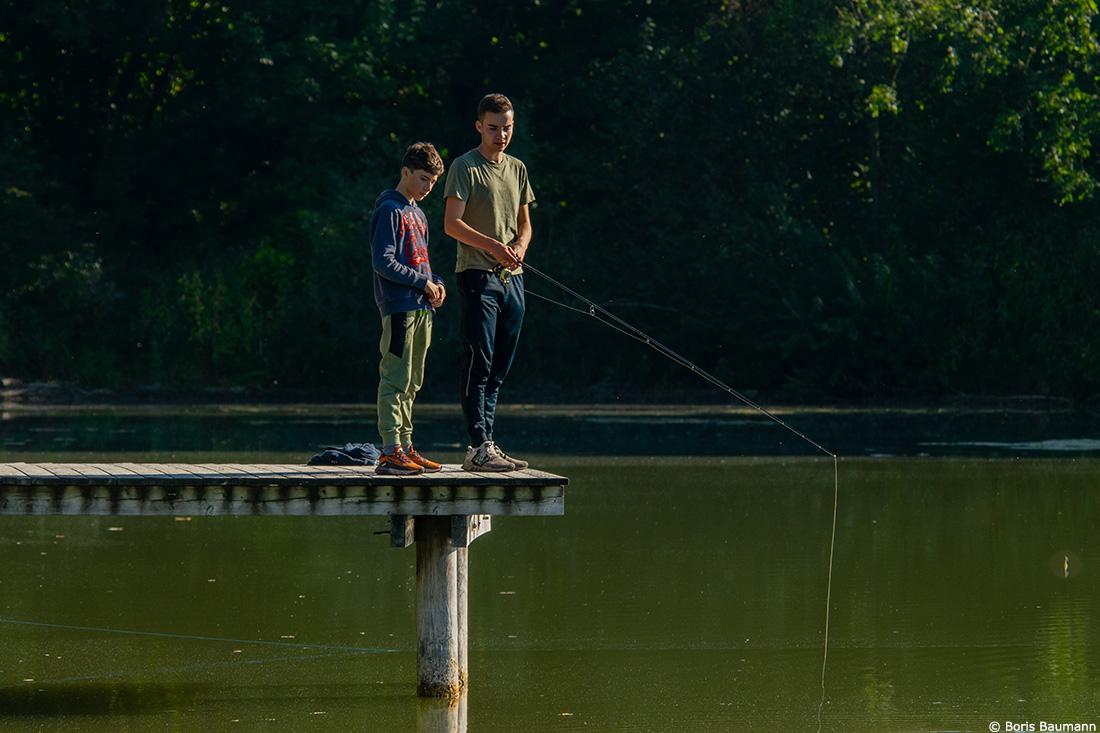 Fischerfreunde Haimhausen e.V. Gemeinschaftsfischen, September 2021